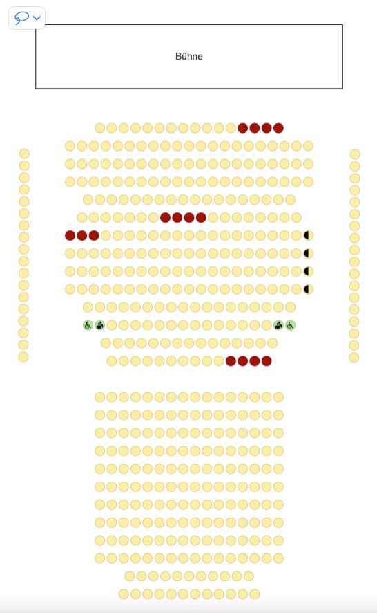 Tickets online beziehen.